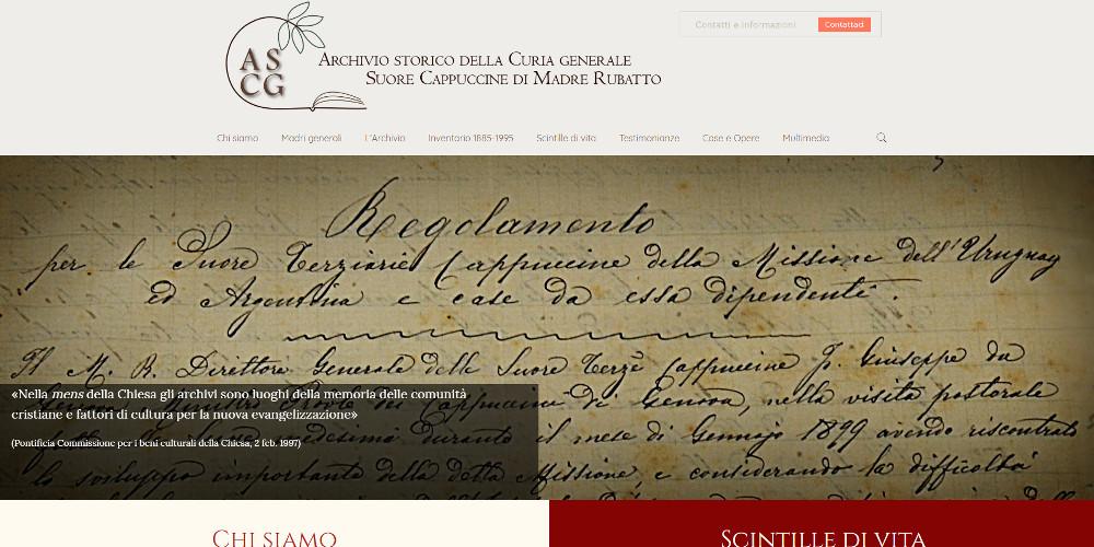 archivio storico della curia generale