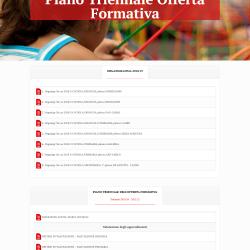 Piano Triennale Offerta Formativa Istituto Comprensivo San Leone IX Sessa Aurunca